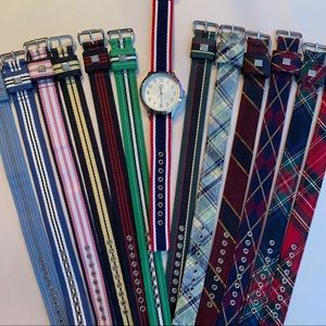 Brooks Brothers Watch with 13 bands